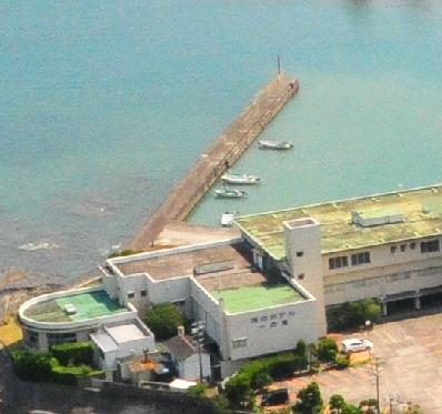 海のホテル一の滝釣り場